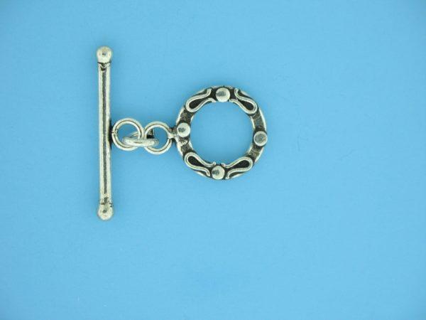 15672 - Bali Silver Toggle Clasp