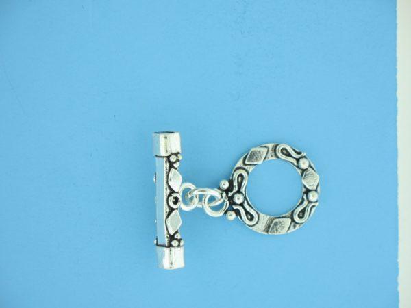 15673 - Bali Silver Toggle Clasp
