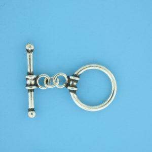 15674 - Bali Silver Toggle Clasp