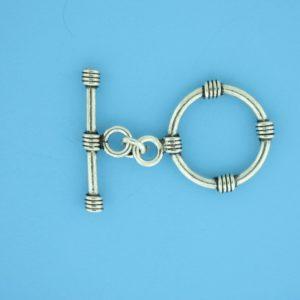 15675 - Bali Silver Toggle Clasp