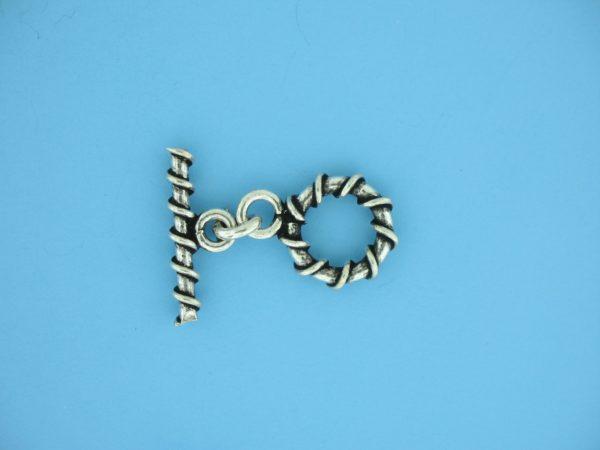 15676 - Bali Silver Toggle Clasp