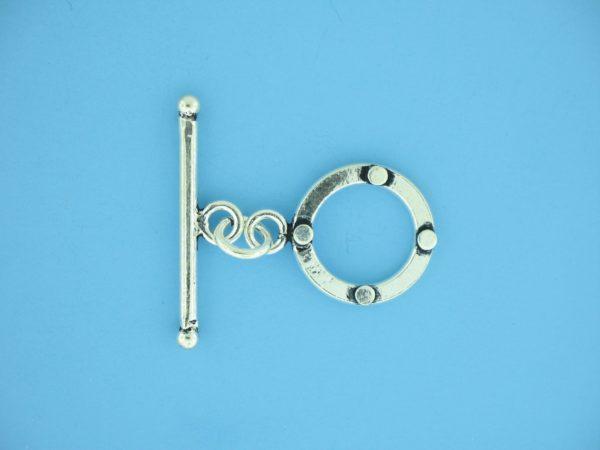 15678 - Bali Silver Toggle Clasp