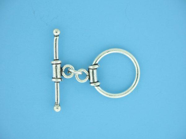 15679 - Bali Silver Toggle Clasp