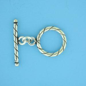 15680 - Bali Silver Toggle Clasp