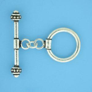 15682 - Bali Silver Toggle Clasp