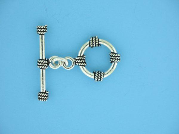 15685 - Bali Silver Toggle Clasp
