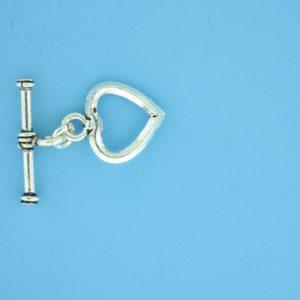 15688 - Bali Silver Toggle Clasp
