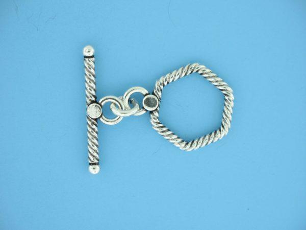 15691 - Bali Silver Toggle Clasp