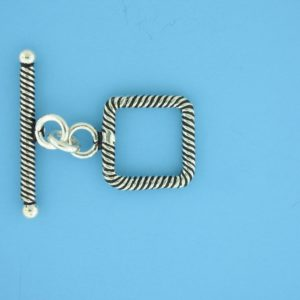 15692 - Bali Silver Toggle Clasp