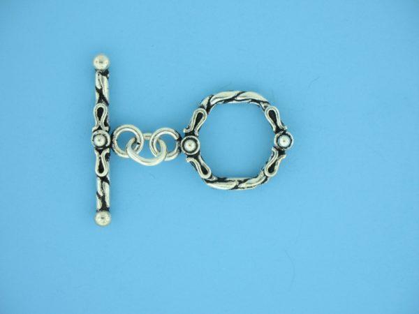 15693 - Bali Silver Toggle Clasp