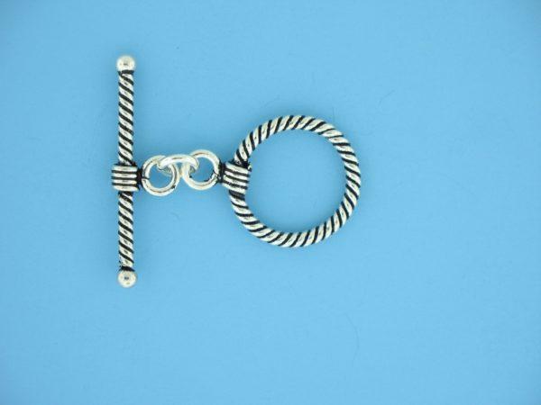 15694 - Bali Silver Toggle Clasp