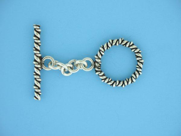 15699 - Bali Silver Toggle Clasp