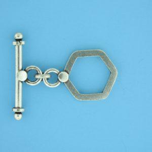 15704 - Bali Silver Toggle Clasp
