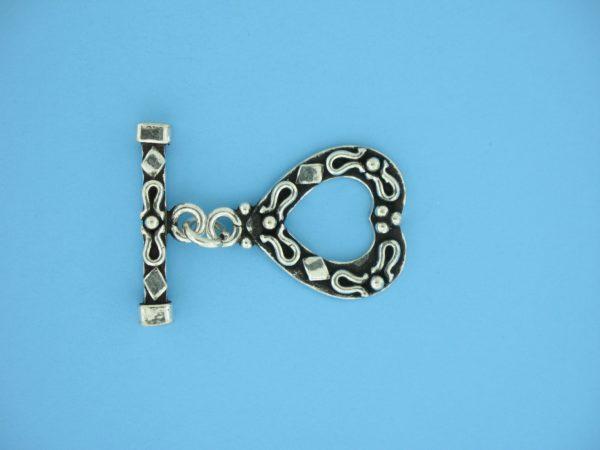 15708 - Bali Silver Toggle Clasp