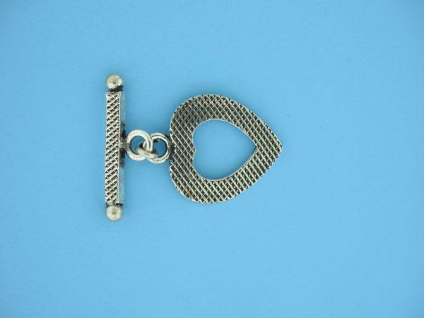 15709 - Bali Silver Toggle Clasp