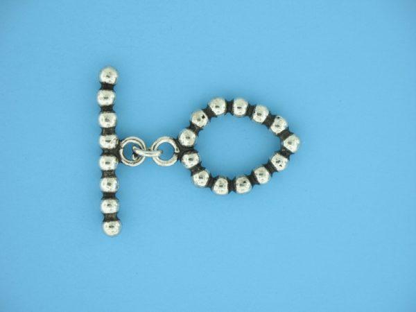 15711 - Bali Silver Toggle Clasp
