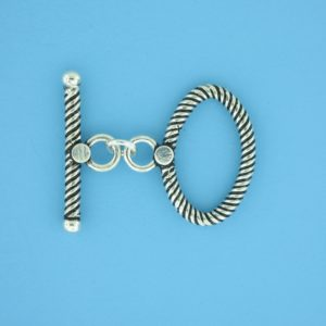 15714 - Bali Silver Toggle Clasp