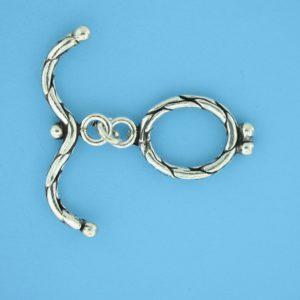 15716 - Bali Silver Toggle Clasp