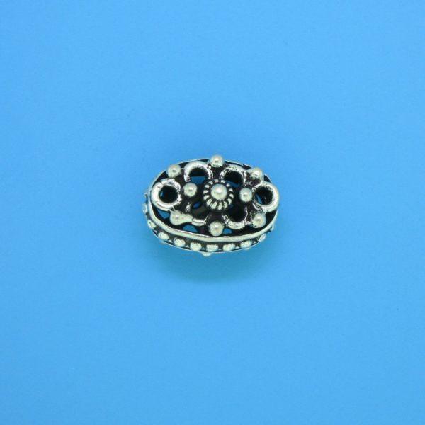 15165 - Bali Silver Bead 13x9x9mm