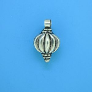 15169 - Bali Silver Bead 17x12x9mm