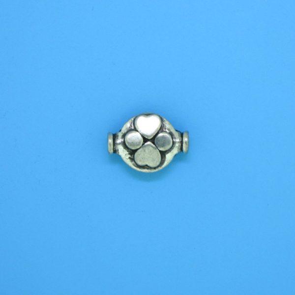 15178 - Bali Silver Bead 11x8mm