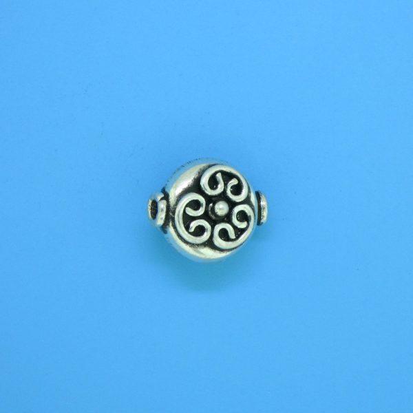 15180 - Bali Silver Bead 10mm