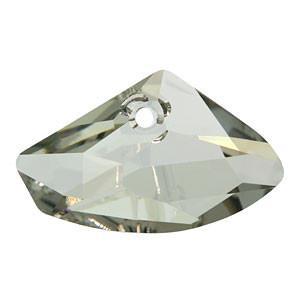 6657 - 16x27mm Swarovski Galactic Pendant - Silver Shade
