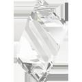 6650 - 22mm Swarovski Cubist Pendants - Crystal
