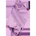 6650 - 22mm Swarovski Cubist Pendants - Light Amethyst