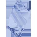 6650 - 22mm Swarovski Cubist Pendants - Light Sapphire
