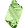 6650 - 22mm Swarovski Cubist Pendants - Peridot