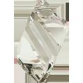 6650 - 22mm Swarovski Cubist Pendants - Silver Shade