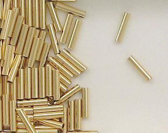 1750 - 1x6mm Gold Filled Plain Tube