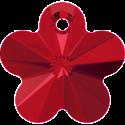 # 6744 - 12mm Swarovski Flower Pendant - Light Siam
