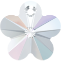 # 6744 - 14mm Swarovski Flower Pendant - Crystal AB