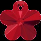 # 6744 - 14mm Swarovski Flower Pendant - Light Siam