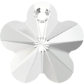 # 6744 - 18mm Swarovski Flower Pendant - Crystal