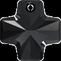 # 6866 - 20mm Swarovski Cross Pendant - Jet