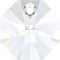 # 6401 - 14mm Swarovski Octagon Pendant - Crystal
