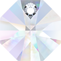 # 6401 - 14mm Swarovski Octagon Pendant - Crystal AB