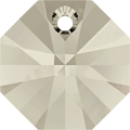 # 6401 - 14mm Swarovski Octagon Pendant - Silver Shade