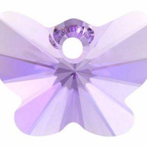 # 6754 - 18mm Swarovski Butterfly Pendant - Violet