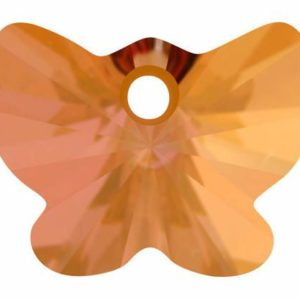 # 6754 - 18mm Swarovski Butterfly Pendant - Copper