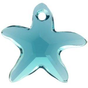 # 6721 - 20mm Swarovski Starfish Pendant - Indicolite