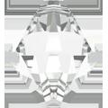 # 6301 - 6mm Swarovski Top Hole Bicone Pendant- Crystal