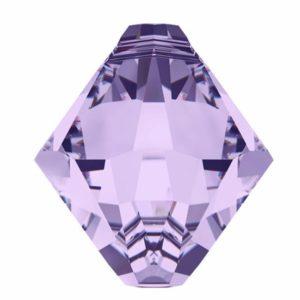 # 6301 - 6mm Swarovski Top Hole Bicone Pendant- Violet
