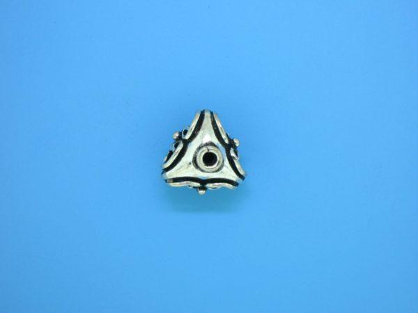 15184 - Bali Silver Bead 12x12mm