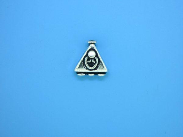 15185 - Bali Silver Bead 13x13mm
