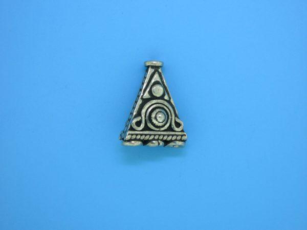 15190 - Bali Silver Bead 17x14mm