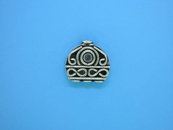 15192 - Bali Silver Bead 17x16mm